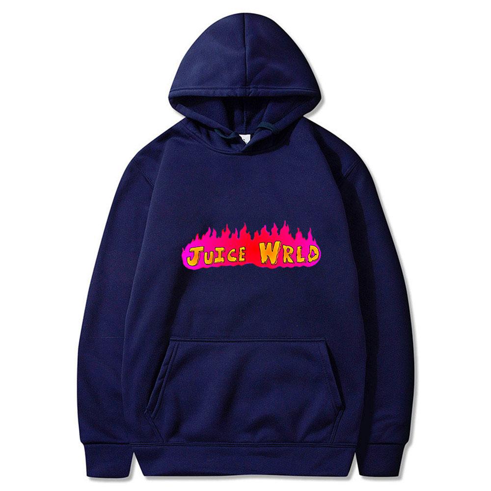 Juice Wrld Flame Hoodie
