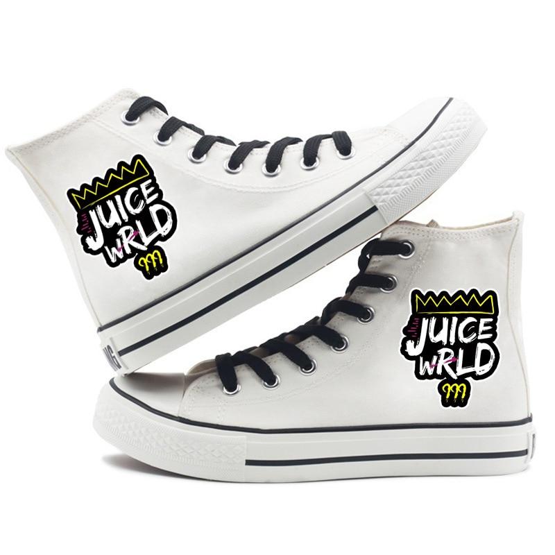 New Rapper Juice WRLD Canvas Shoes