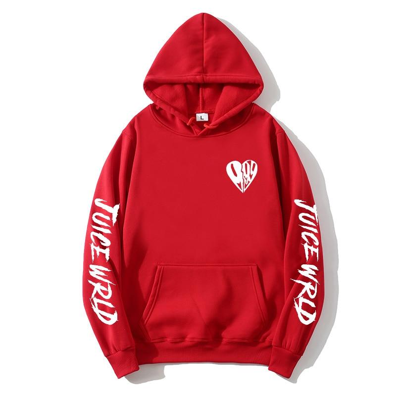 Juice Wrld Heart Hoodie