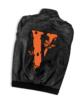 Juice Wrld x Vlone Butterfly PU Leather Motorcycle Jacket