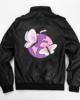Juice Wrld Butterfly PU Leather Motorcycle Jacket