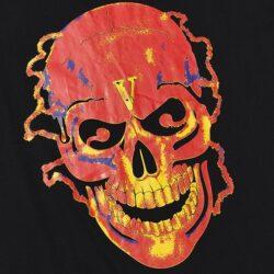 VLONE Red skull T-shirt