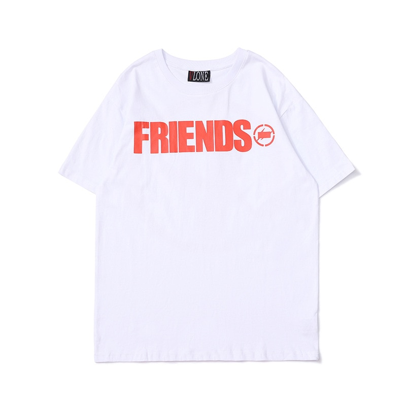 100% Cotton Streetwear VLONE T-shirt