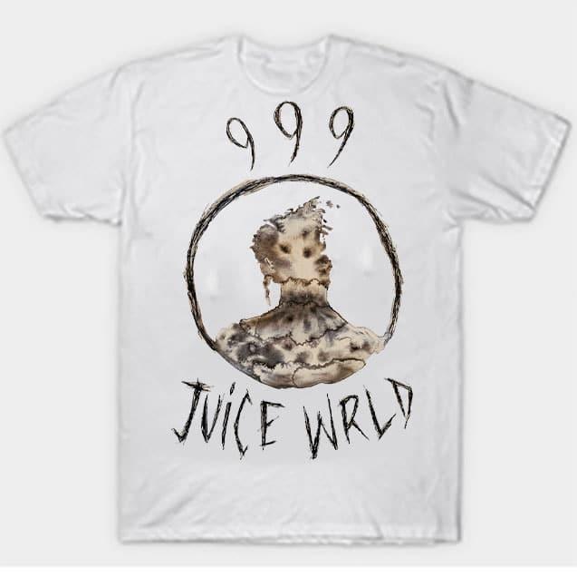 999 Juice WRLD Tan T-Shirts