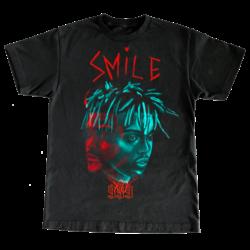Juice WRLD X The Weekend Smile 999 T-Shirts black