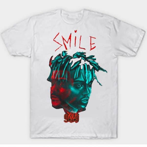 Juice WRLD X The Weekend Smile 999 T-Shirts white