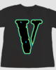 Juice WRLD X VLONE Legend T-Shirt in Black & White