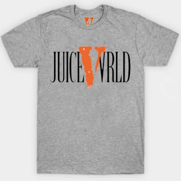 Juice WRLD X VLONE White T-Shirts